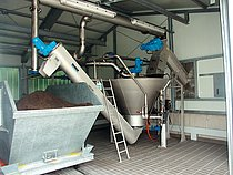 COANDA Grit Washer RoSF 4 for improved hygiene and reduction of disposal costs